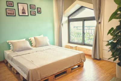 Tofu's House - Mint Flat with kitchen and balcony (+ LIFT) in Hanoi