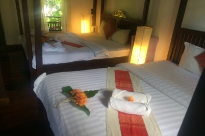 Khoum Xieng Thong  Villa - Deluxe Twin Room with Garden View