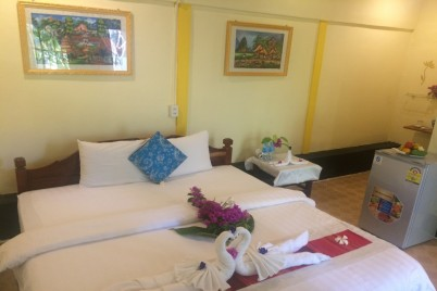 Khoum Xieng Thong Villa - Superior Double Room with Garden View