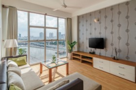 [AMAZING VIEW 2BR] Enjoy Sunny Morning by River