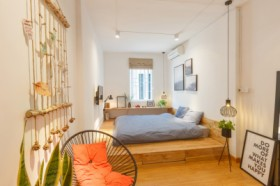Tropical Nordic house in Hanoi Old quarter – Room 401 (4th floor)
