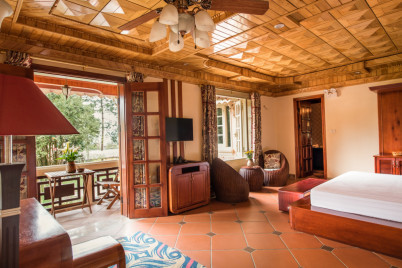 Sapa Garden Bed and Breakfast  - Double Room with Balcony