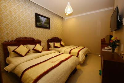 Villa Thảo Nguyên - Deluxe Double or Twin Room with Garden View