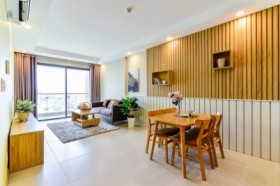 Gold View Apartment 80m, 2BR; FREE Pool & Gym / 5min to Ben Thanh
