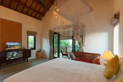 Blue Beach Village Homestay_Double Room with Balcony 01