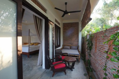Blue Beach Village Homestay_Double Room with Terrace R2
