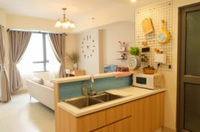 Cozy home in Masteri Thao Dien, T3, lower floor with pool and park view