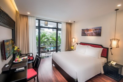Belle Maison Hadana Hoi An - Senior Deluxe Pool view- Spa Offer King Double