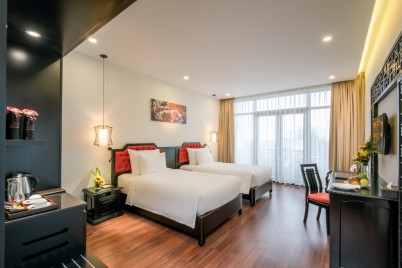 Belle Maison Hadana Hoi An - Senior Deluxe Pool view- Spa Offer Twin Beds