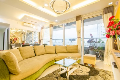 Sunrise City Alm's Luxury Apartment 3 Bed Room Full Furniture City View