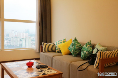 Warmly style 02 bedroom directly River view  in THAO DIEN PEARL