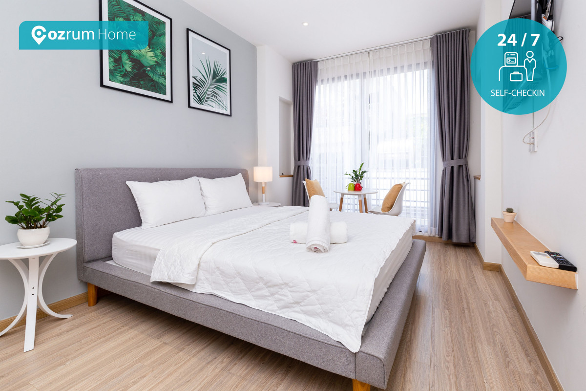Cozrum Homes - Beautifully Designed 1BR @BenThanh