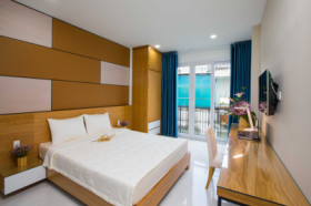 Serviced apartment for rent at Nguyen Trai. D1