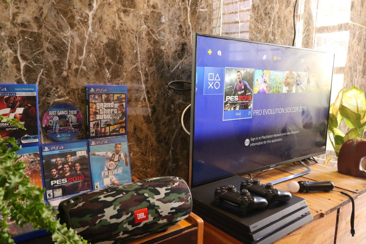 Dốc apartment Coffee. Home cinema 5.1 with Netflix. Game Room PS4 pro - Nintendo. Rose Garden - 01